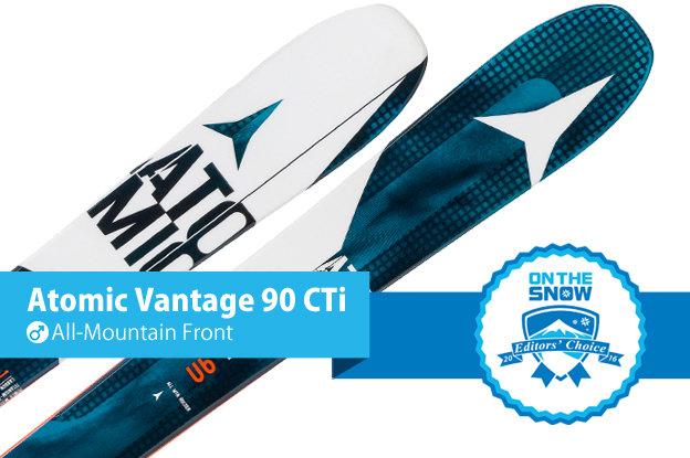 Atomic Vantage 90 CTi: Editors' Choice, Men's All-Mountain Front