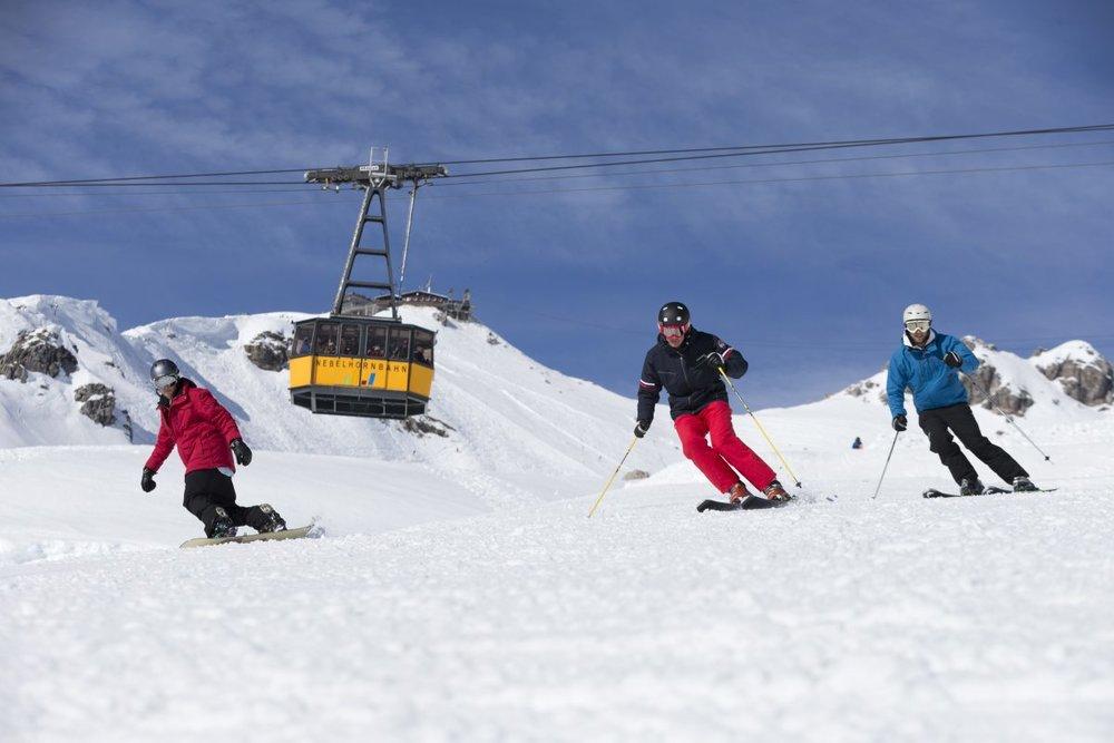 Skifahren am Nebelhorn - © Fellhornbahn GmbH