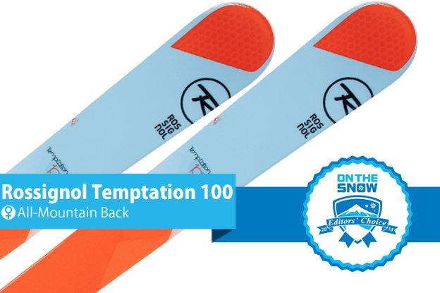 Rossignol Temptation 100: Editors' Choice, Women's All-Mountain Back