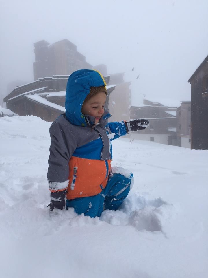 Depuis ce matin, on peut enfin s'adonner aux jeux d'hiver à Avoriaz... - © Avoriaz 1800
