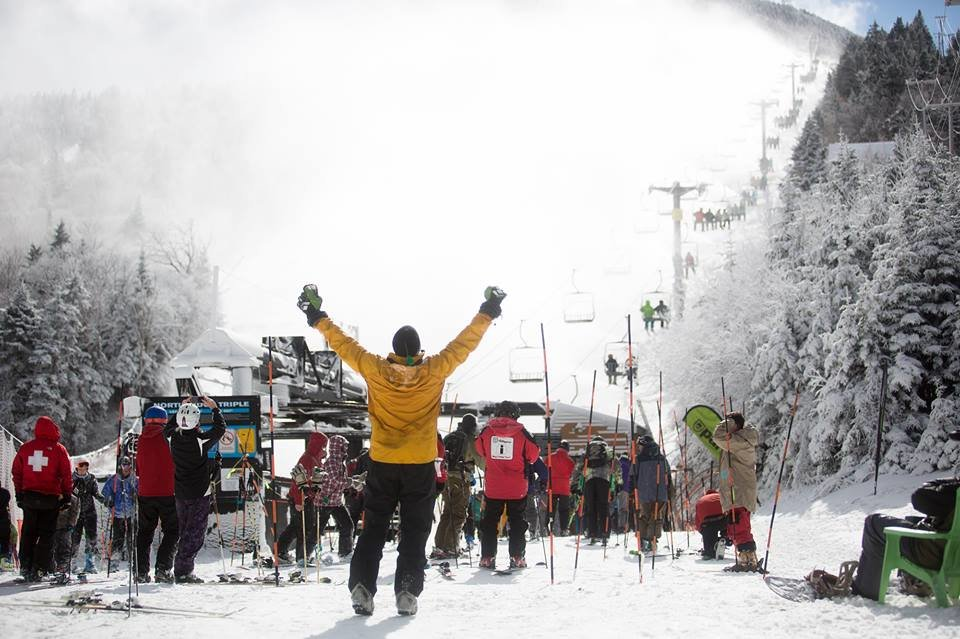 Too excited to play it cool - © Killington Resort