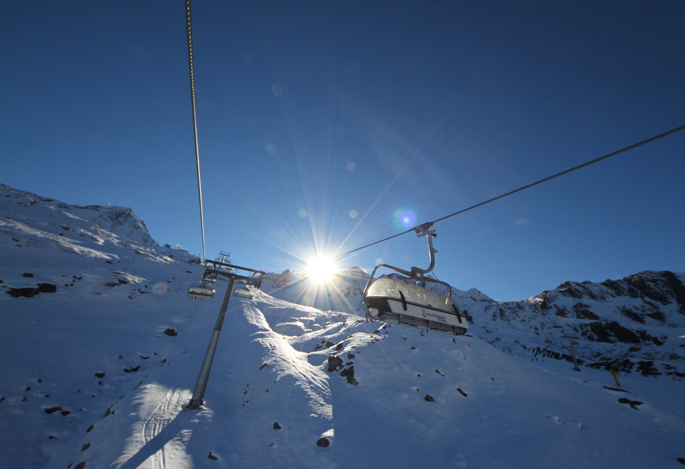 Na kanapie Eisjochbahn - © Skiinfo