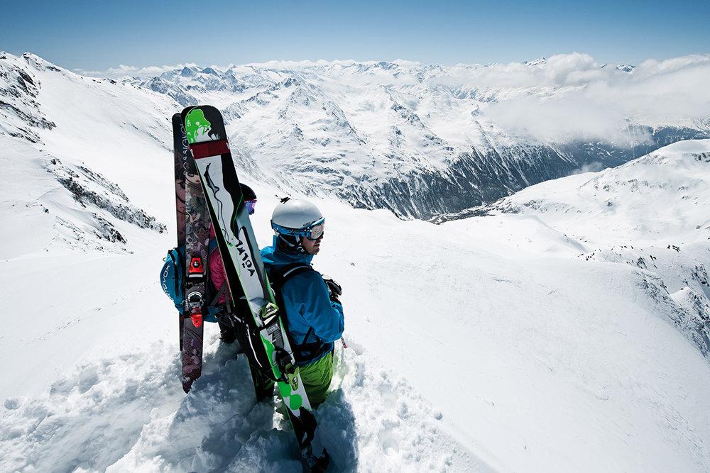 Freeride na ledovci Stubai - © Stubaier Gletscher | Andre Schönherr