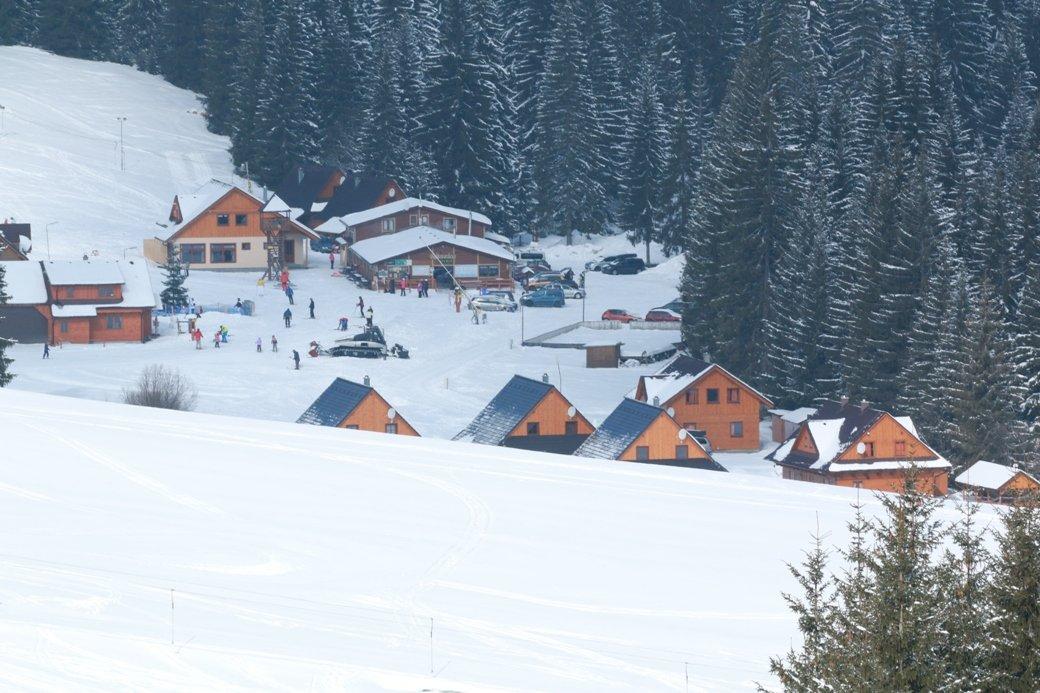 Pravá slovenská zima v Oravskej Lesnej - © ORAVA SNOW