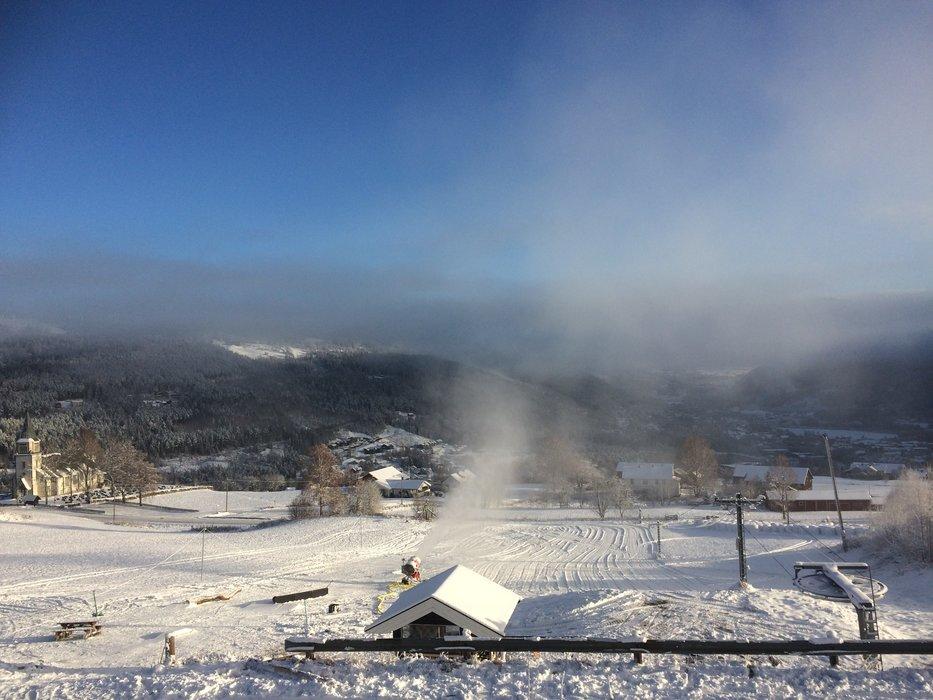 Førstkommende helg åpner Gol Skipark sin railpark - © Stian Karlsen