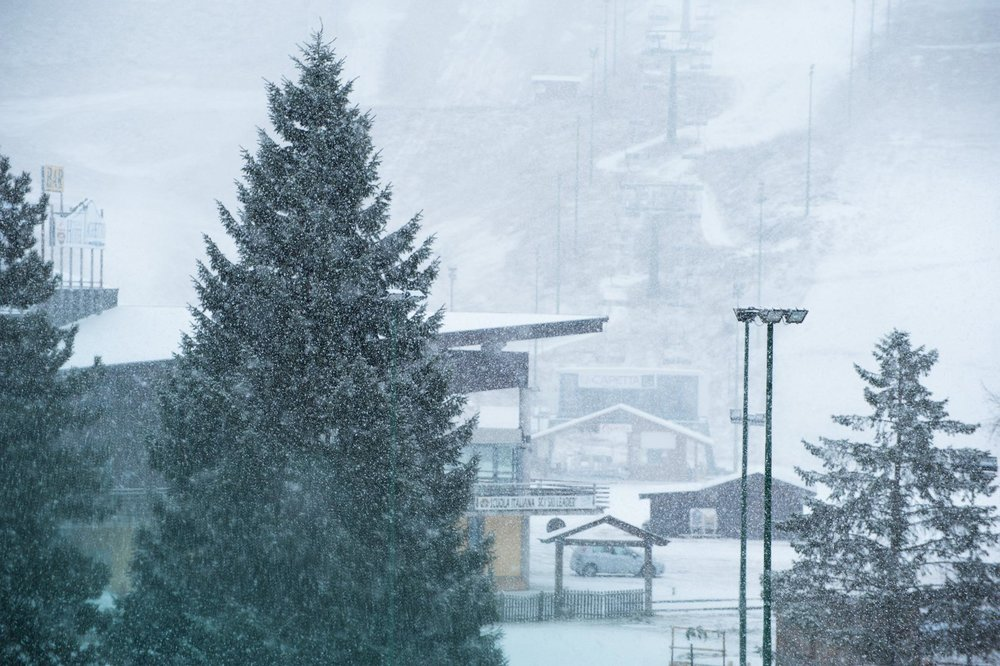 Prato Nevoso, neve fresca 23.11.15 - © Prato Nevoso FB