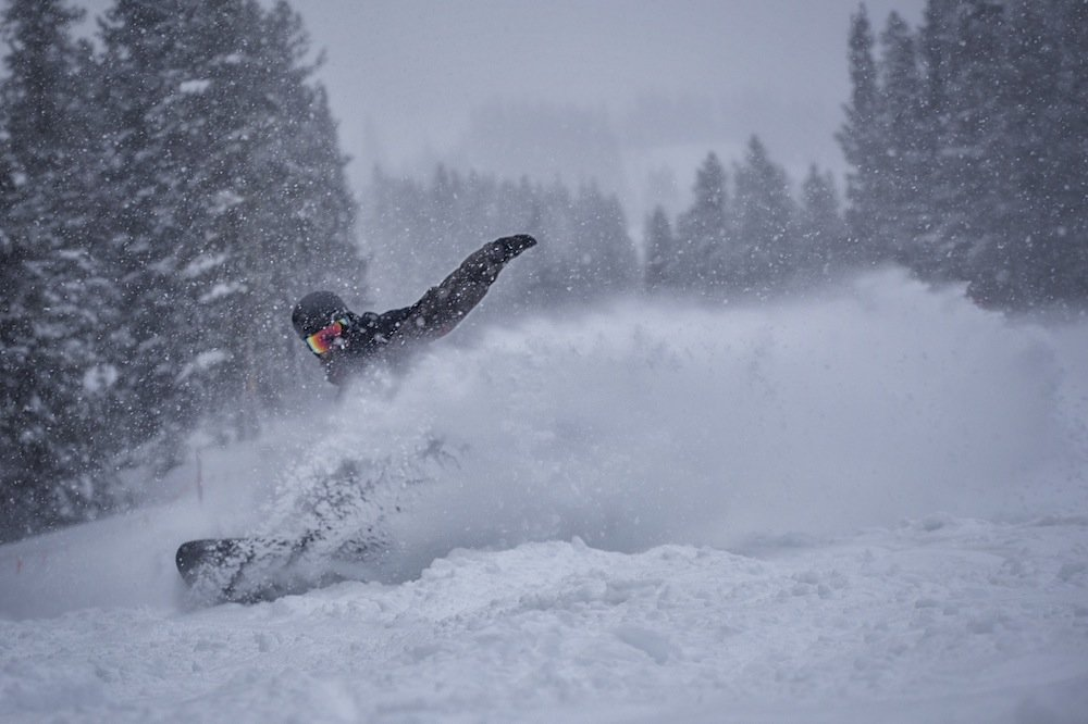 Copper Mountain powder day - © Tripp Fay