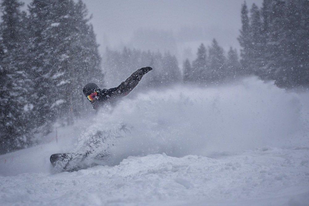 Copper Mountain powder day - ©Tripp Fay