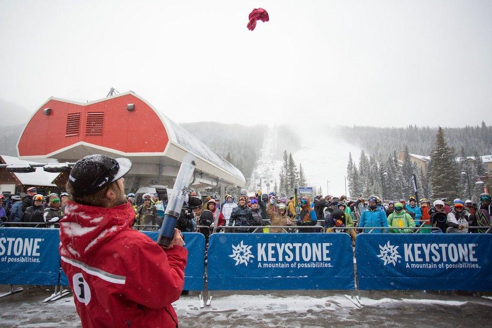 Keystone's opener summed up November for many of Colorado's resorts. - © Keystone Resort