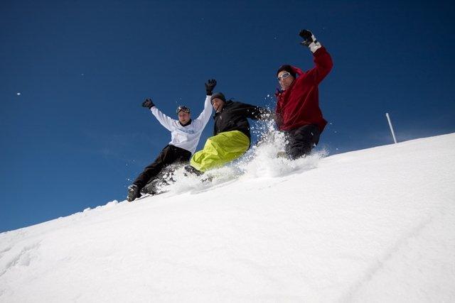 Plaisirs simples et joies de la glisse à Saint Lary - © Office de Tourisme de Saint-Lary