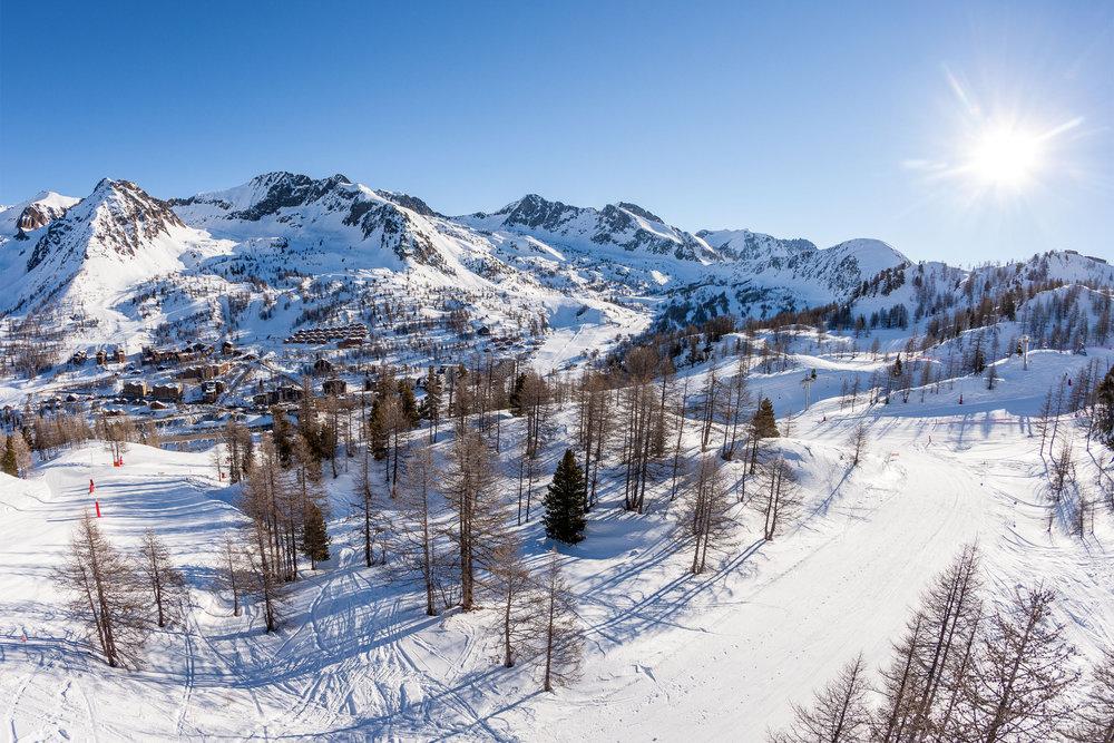 Sur le domaine skiable d'Isola 2000 - © R. Palomba / Stations du Mercantour