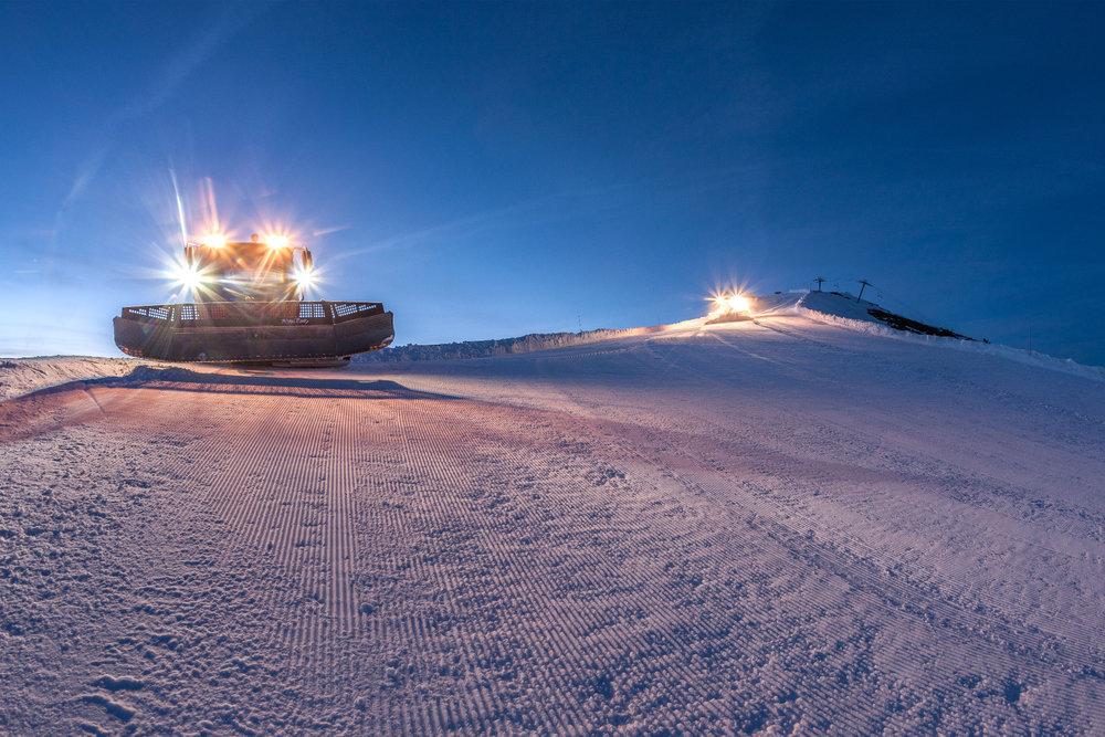 Préparation des pistes de ski d'Isola 2000 - © R. Palomba / Stations du Mercantour