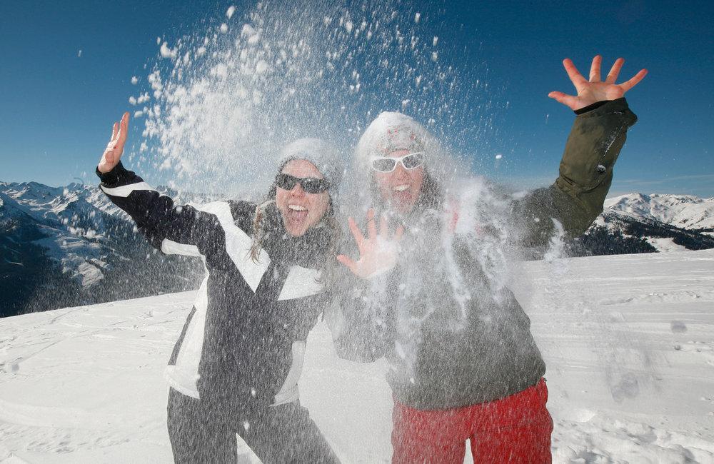 Viele fahren jedes Jahr zur Skigaudi in die Kitzbüheler Alpen - © Kitzbüheler Alpen Marketing / Kerstin Joensson