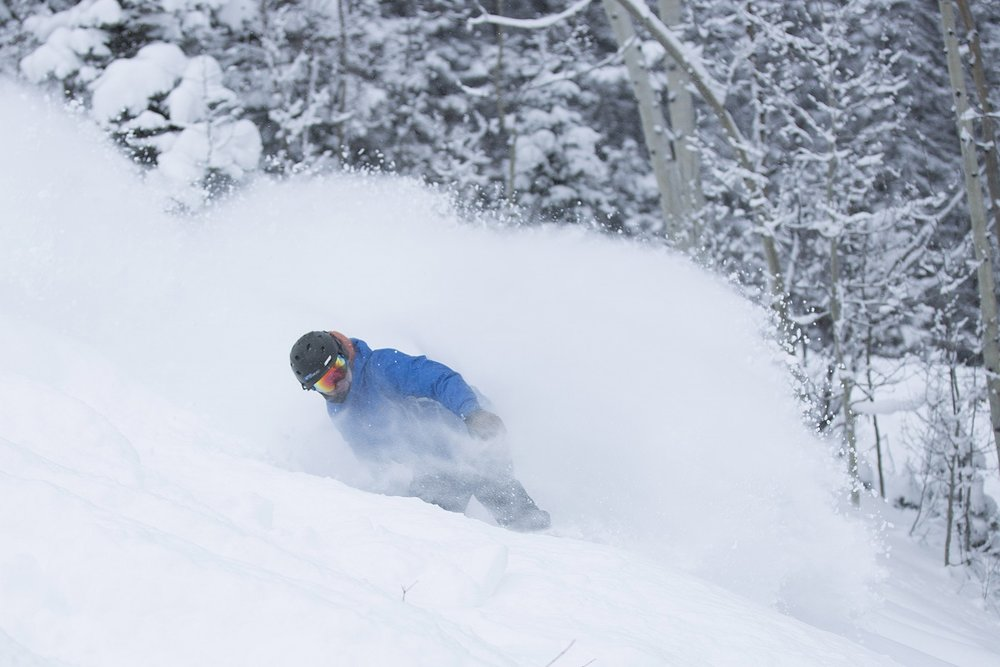 Purgatory's 50-year anniversary season has featured great powder conditions - ©Purgatory