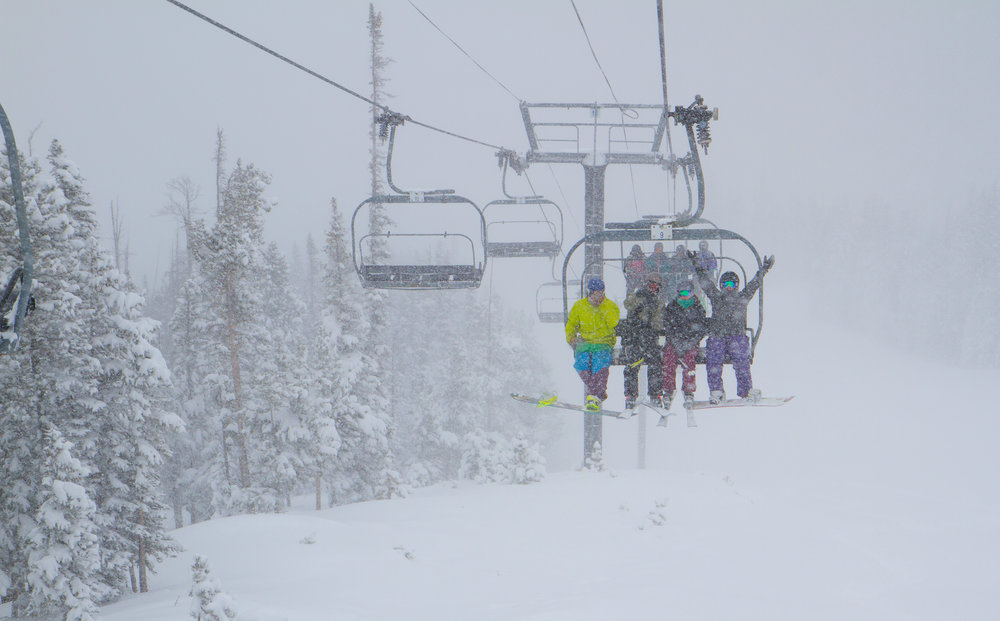 "The biggest single snowfall of the season so far has dropped 13"" of fresh powder on Winter Park Resort in 24 hours, with even more on the way.   - © Carl Frey/Winter Park Resort"