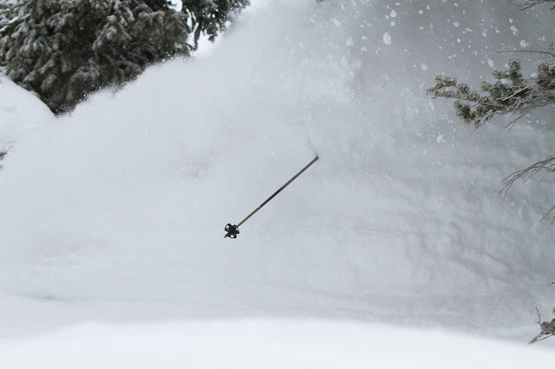 This is what faceshots look like when it snows at Alta.  - © Kevin Winzeler