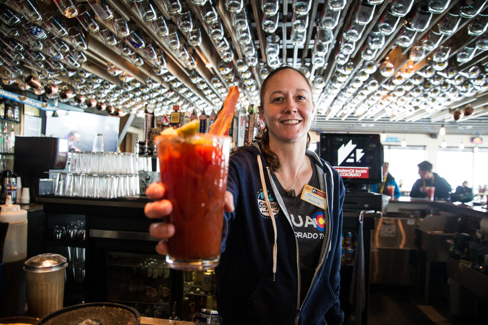A bucket-list worthy bacon bloody. - © Liam Doran