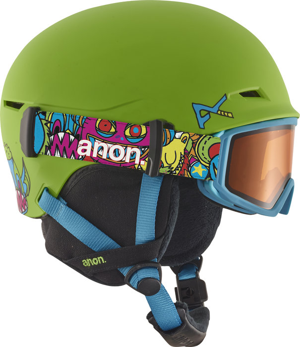 anon. Define Helmet: $139.99 Features include Endura-Shell construction, Strapper-Keeper technology, Fidlock® Snap helmet buckle, classic fleece on liner and ear pads, Over The Glasses (OTG) compatible, Youth Boa® 180° Fit System.