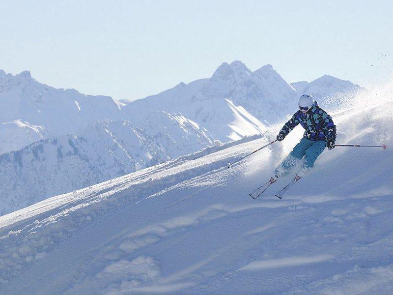 Auch im Oberallgäu herrschen oft traumhafte Wintersportbedingungen - © 2015 Hörnerdörfer