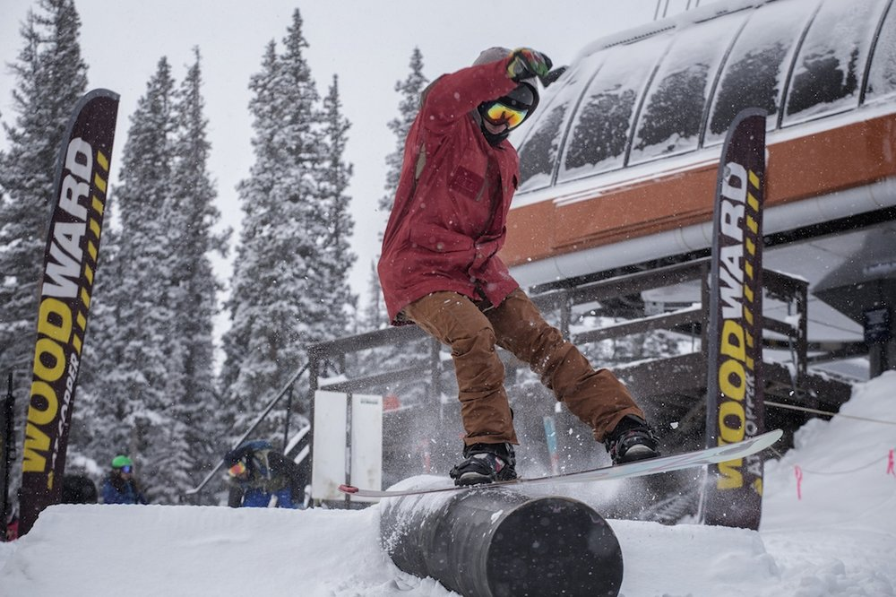 Opening day jib session at Copper Mountain - © Tripp Fay