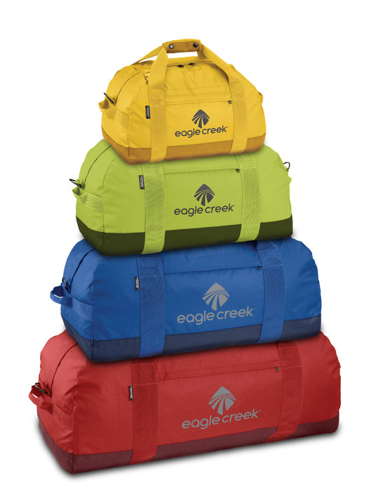 Eagle Creek No Matter What Rolling Duffel: Price varies per size. Offered in an array of cool colors and sizes (with or without wheels) to accommodate ski weekend to week-long getaway, this super lightweight bag will fit it all in one big, no-frills cavity. Just TRY to lose those ski socks. There's no warranty for that, but you're covered for pretty much everything else.