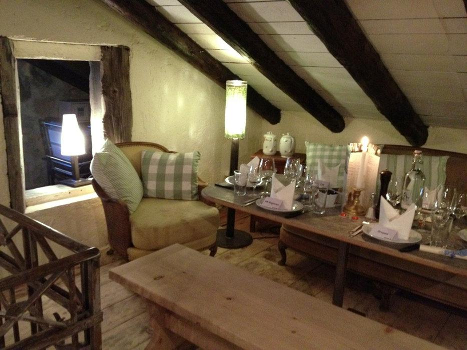 Fine dining på Chez Vrony. - © Chez Vrony