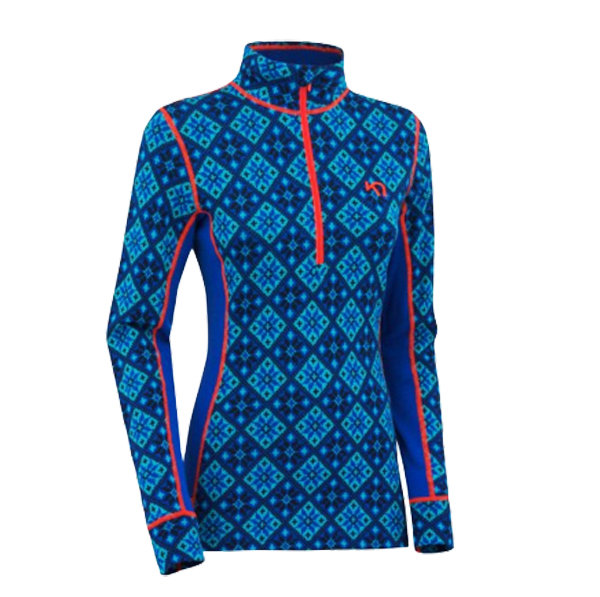 Kari Traa Rose H/Z: $110 This super cool patterned base layer half zip and corresponding pant are all performance in merino wool at no expense to style. Those who don't like to wear their base layers like a second skin might consider sizing up one for this slim-fitting combo.
