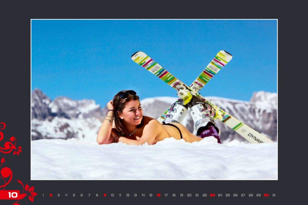 Kalendár lyžiarskych inštruktoriek z Val Gardena: Október 2016 - © Scuola Sci Selva http://www.scuolasciselva.com - Robert Perathoner ski instructor & photographer - www.foto-prodigit.com