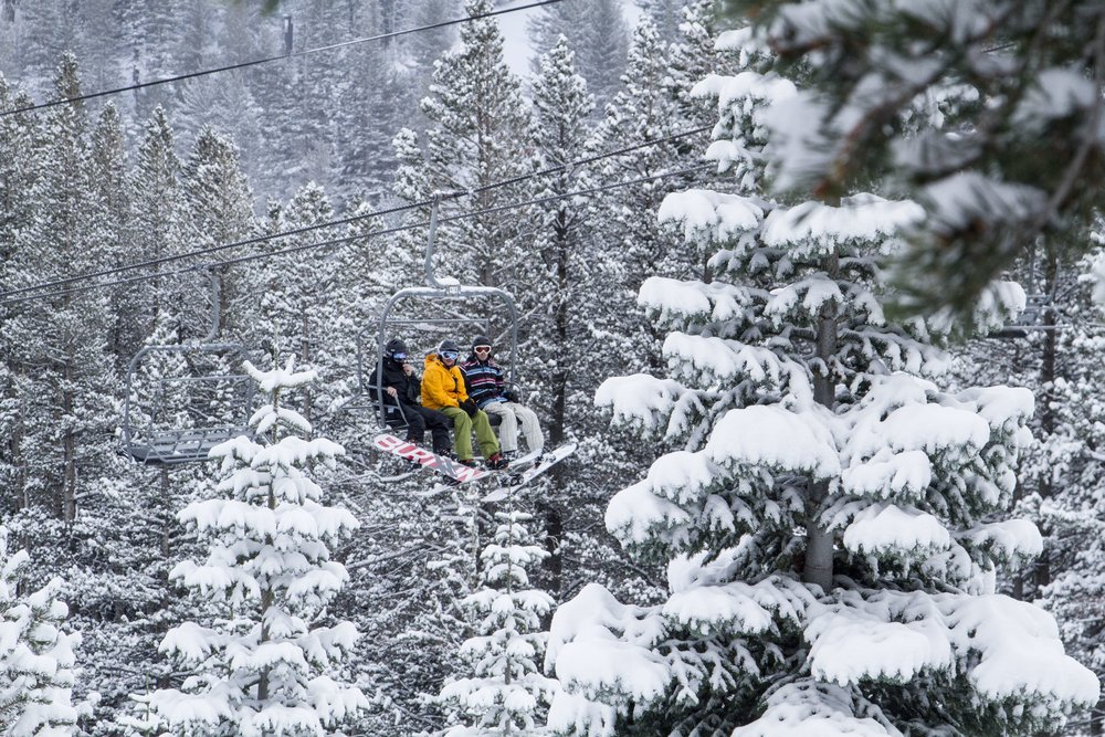 Mt. Rose opened to powder for 2015. - © Mt. Rose