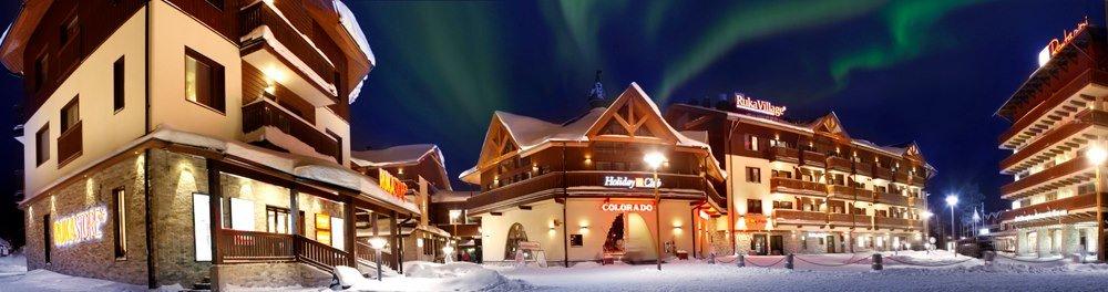 Northern lights over Ruka - © Ruka Ski Resort