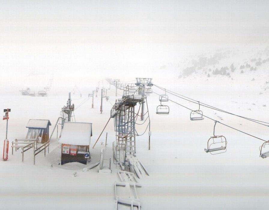 Il neige aussi sur les Pyrénées comme ici à Saint Lary