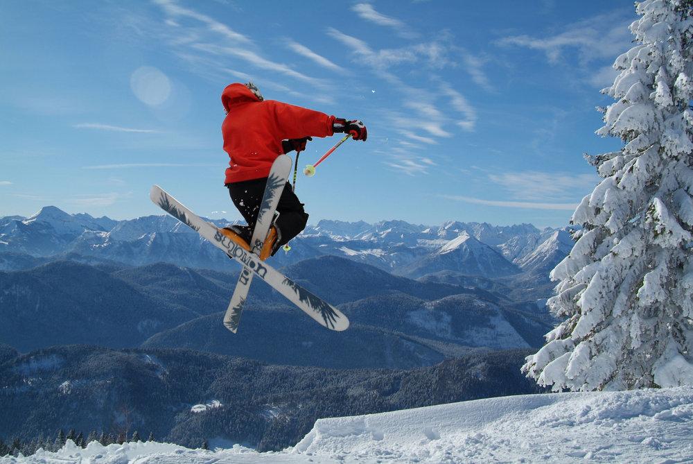 Skifahren am Brauneck in Lenggries - © Gäste-Info Lenggries