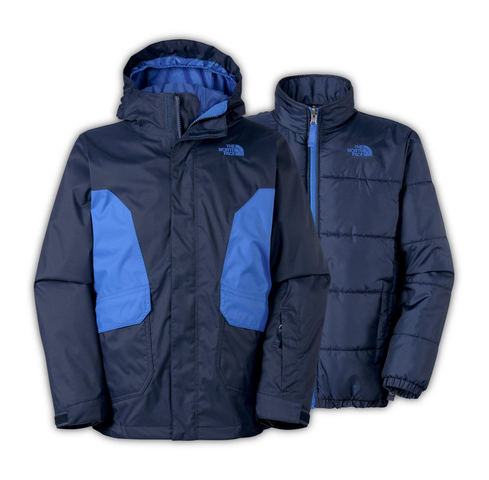 The North Face Boys' Boundary Triclimate: $170 Young riders will push their boundaries on the slopes in this versatile three-in-one snowsports jacket that pairs a waterproof shell with a removable insulated liner jacket to create a tough barrier against cold weather.