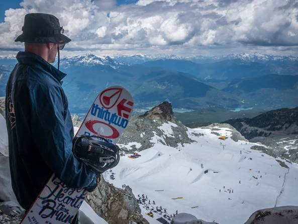 Whistler is testing a pilot program to help preserve Horstman Glacier on Blackcomb Mountain. - © JP Walker/Whistler Blackcomb