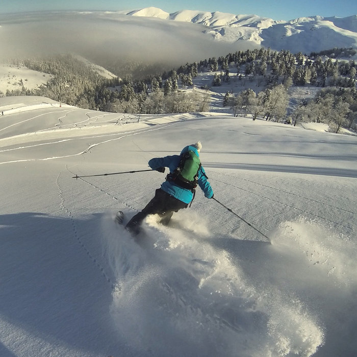 De grands espaces vierges, le paradis de tous les amateurs de ski hors-pistes... - © Florian Doy