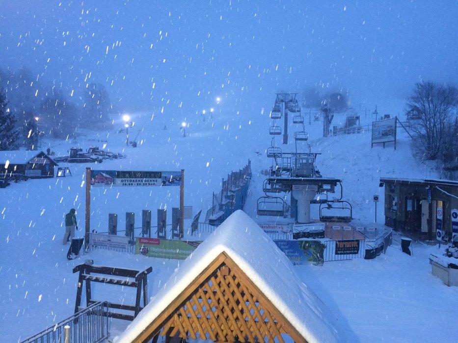 Ski Krahule 13.1.2016, SK - © Ski Krahule