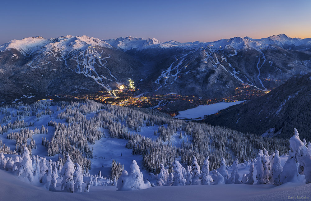 With over 5m (18ft) of snowfall, the season is off to a stunning start here at North America's #1 Resort. - © David McColm