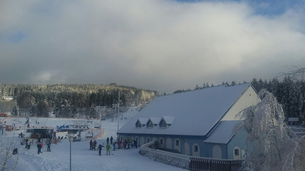 Skiareál Lipno 14.1.2016 - © Facebook Skiareál Lipno