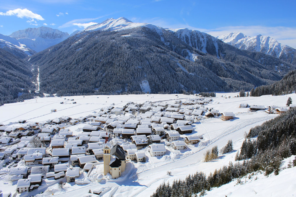Obertilliach im Winter - © Tourismusverband Osttirol
