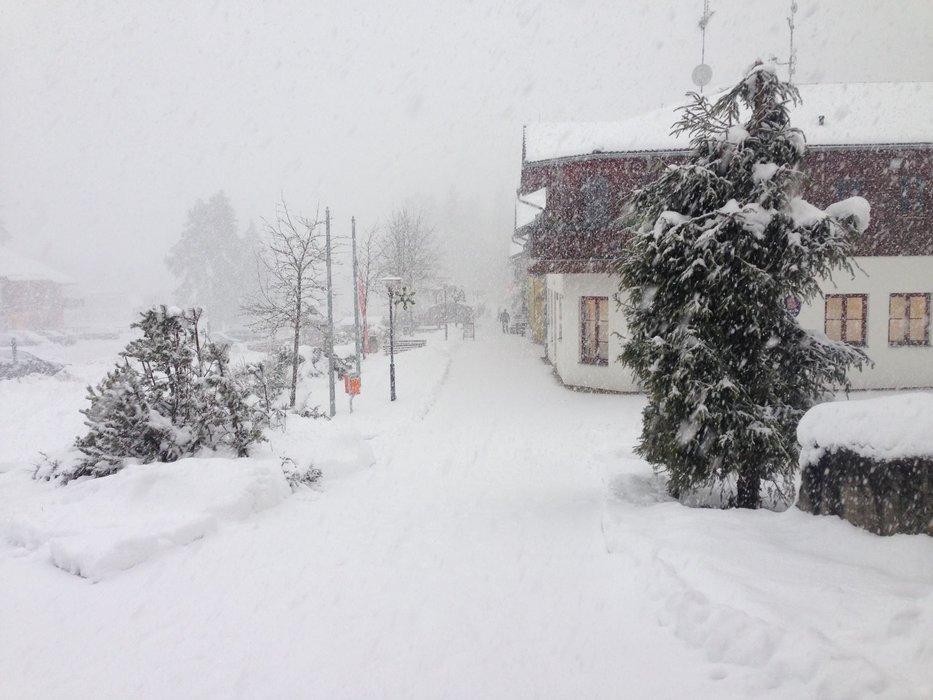 Lipno Ski resort, CZE, 15.1.2016 - © Facebook Skiareál Lipno