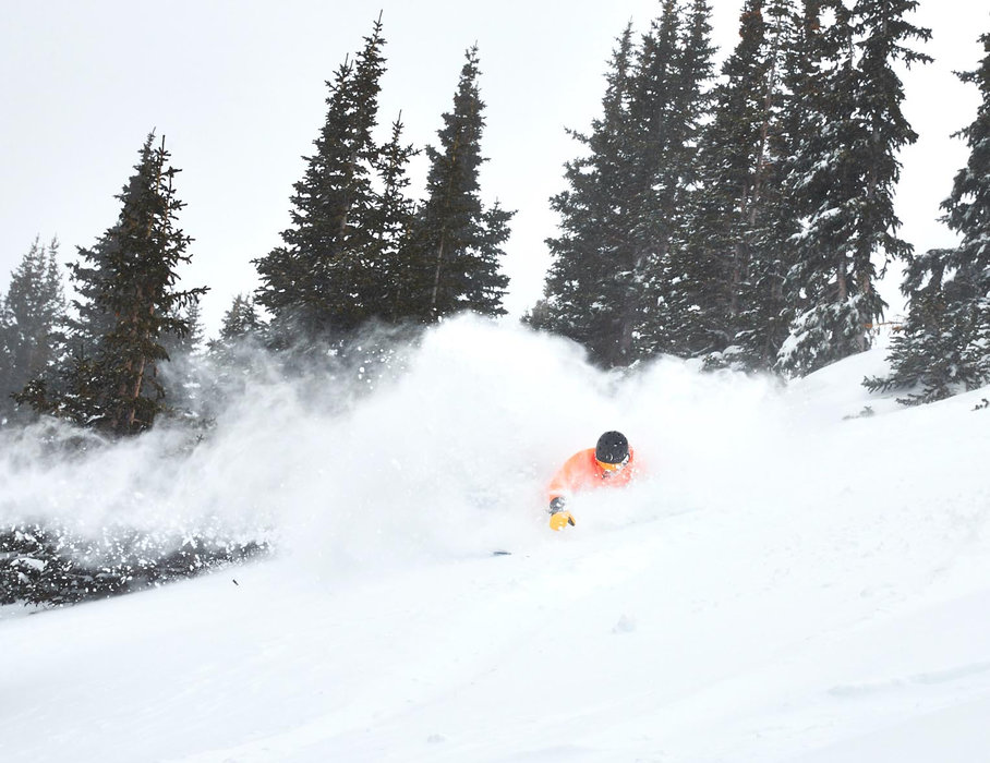 Getting the face shots at Breckenridge at the start of MLK long weekend 2016. - © Breckenridge