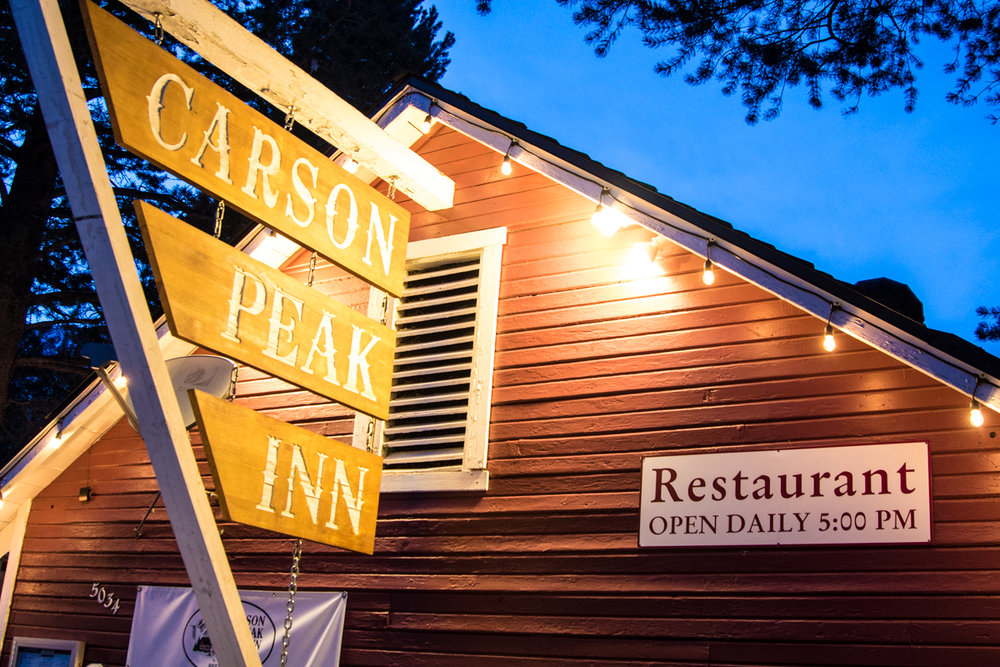 June Lake's Carson Peak Inn is a Glen Plake favorite. - © Liam Doran