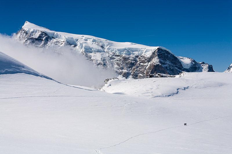 Nordend, Monte Rosa Massiv, Findelgletscher, Skitour vom Stockhorn zur Cima di Jazzi - © Iris Kuerschner, www.powerpress.ch