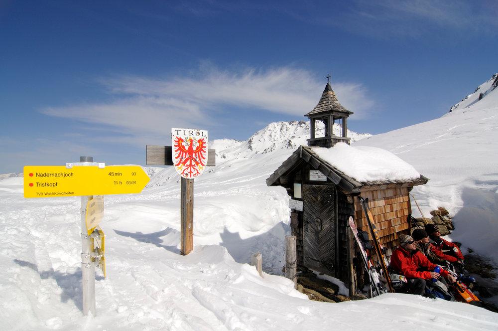 Pause am Markkirchl am Salzachjoch (Kelchsau, Kitzbühler Alpen) - © Norbert Eisele-Hein