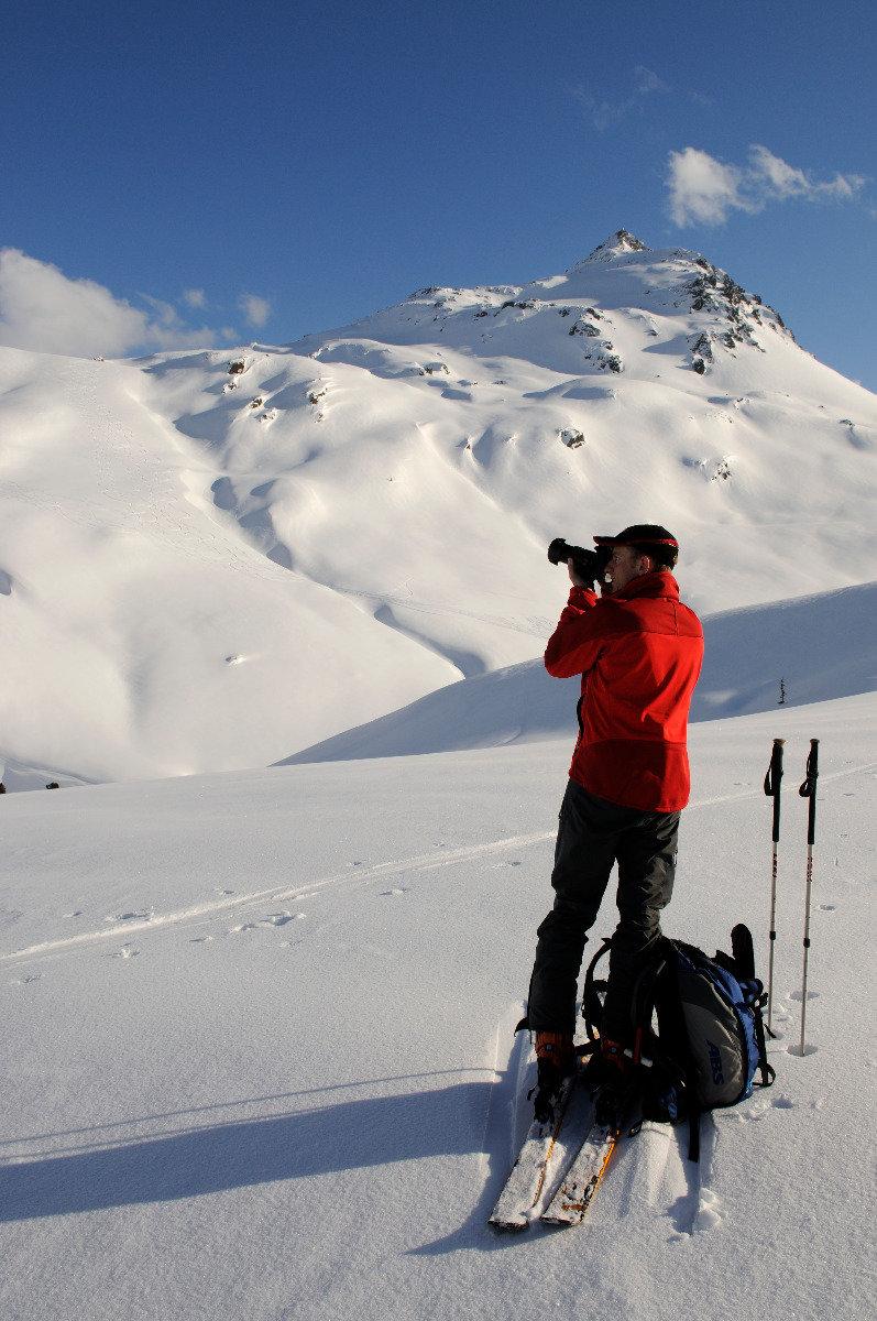 Bei der Skitour auf den Tristkopf (Kelchsau) hat man viel zu knipsen - © Nobert Eisele-Hein