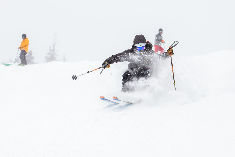 """Sugarloaf skiers were back in the powder with 16"""" of new snow in the last week - © Sugarloaf"""