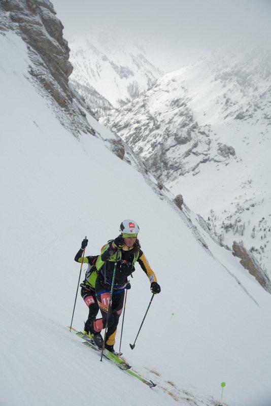 Arvieux, théâtre de l'une des plus importantes épreuves de ski d'alpinisme : le Grand Béal - © M. Molle / OT du Queyras