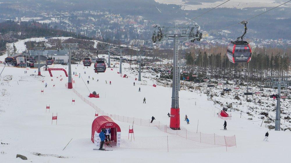 Štart Čučoriedky západ - Audi Ski Aréna Tatranská Lomnica - © TMR