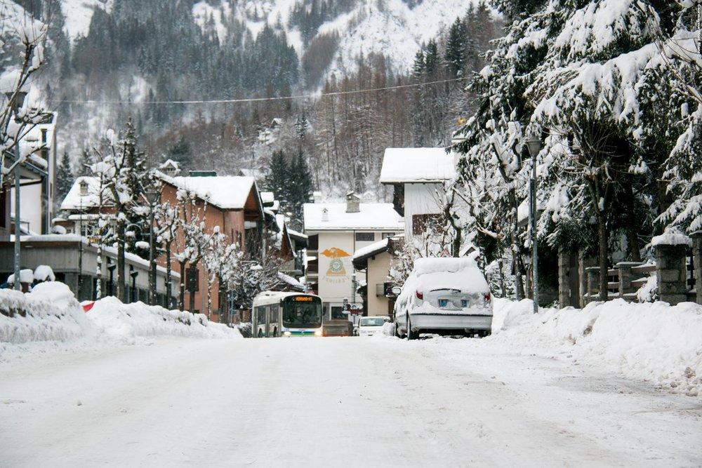 Courmayeur Mont Blanc 10.2.2016 - © facebook Courmayeur Mont Blanc