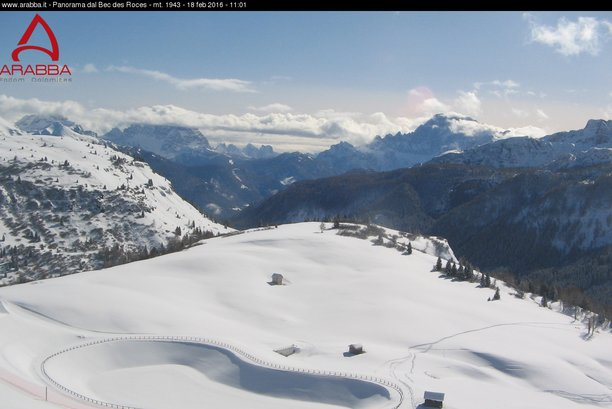 Arabba - Marmolada - © Arabba webcam